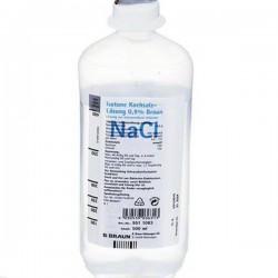 Натрия хлорид, р-р д/инф. 0.9% 500 мл №1 флаконы