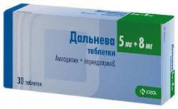 Дальнева, табл. 5 мг+8 мг №30