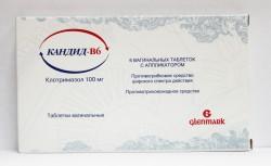 Кандид-В6, табл. ваг. 100 мг №6